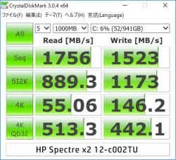 Spectre x2 12-c002TU_CrystalDiskMark_01r
