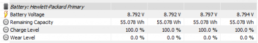 ENVY 13-ad007TU_バッテリー容量
