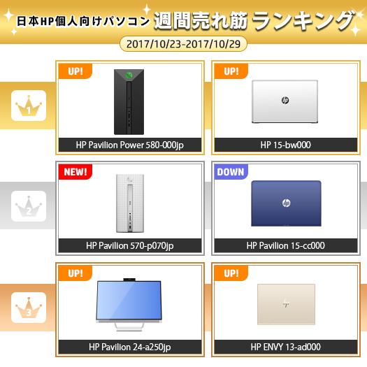 525_HPパソコン売れ筋ランキング_171029_01a