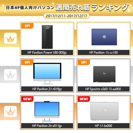 525_HPパソコン売れ筋ランキング_171217_01a