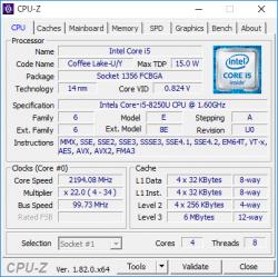 core i5-8250U _CPU-Z_01