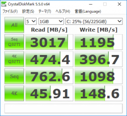 core i5-8250U _CrystalDiskMark5_SSD 256GB_02