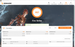 core i5-8250U _Fire Strike_01