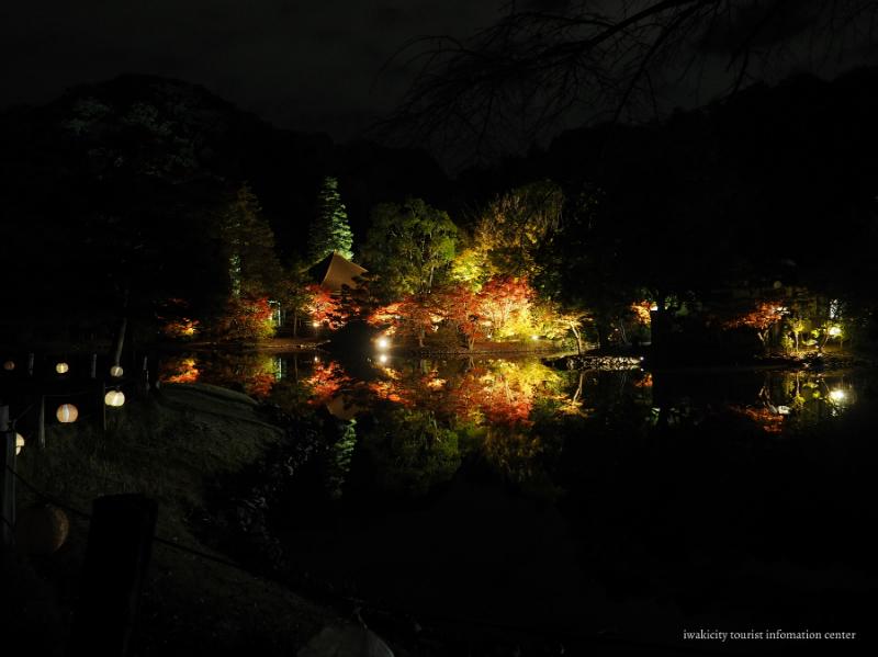 国宝白水阿弥陀堂にて「紅葉ライトアップ」11月3日より開催! [平成29年10月29日(日)更新]1