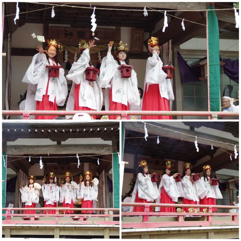 大國魂神社にて大和舞が奉納されました! [平成30年1月8日(月・祝)更新]6