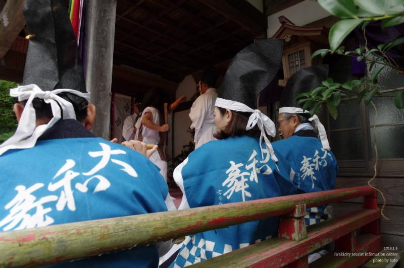 大國魂神社にて大和舞が奉納されました! [平成30年1月8日(月・祝)更新]16