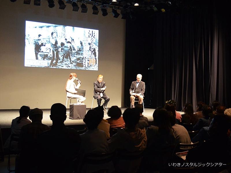 「洟をたらした神」 神山監督と、吉野せいを語る 映画上映&トークショー イベントリポート [平成29年10月22日(日)更新]トップ
