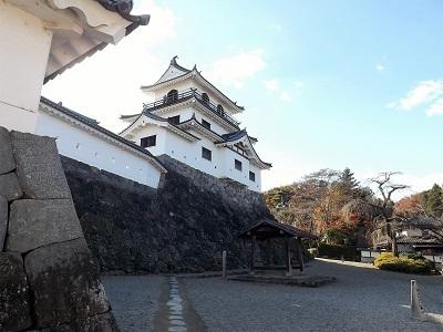 東北の城館めぐり(白石城) (3)
