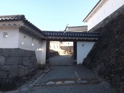 東北の城館めぐり(白石城) (4)