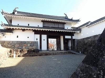 東北の城館めぐり(白石城) (5)
