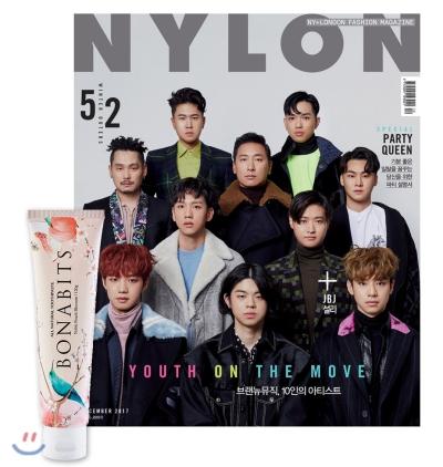 2_韓国女性誌_NYLON_ナイロン_2017年12月号-1