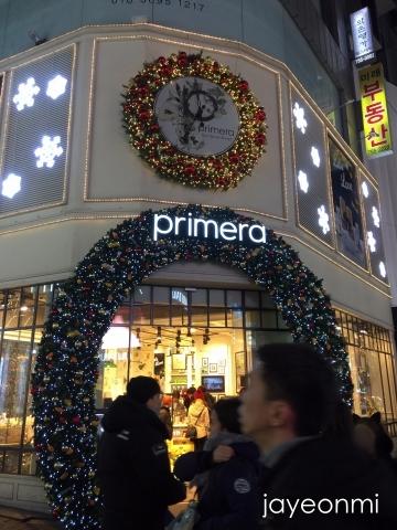 primera_イルミ_明洞_2017年12月
