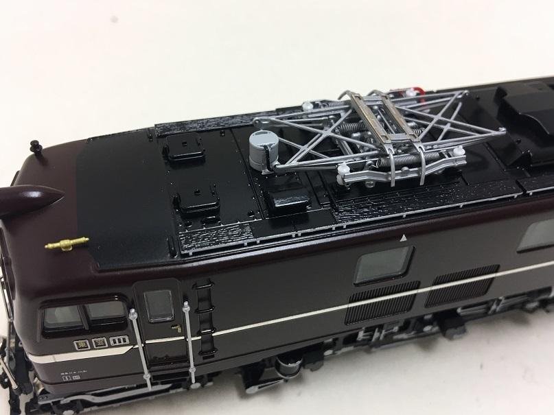 72027 天賞堂カンタム EF58 61 お召 国鉄時代 屋根上