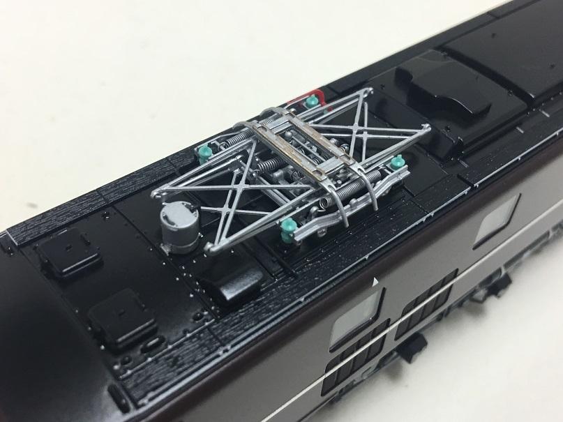 72029 天賞堂カンタム EF58 61 _ 60セット 60号機 屋根上