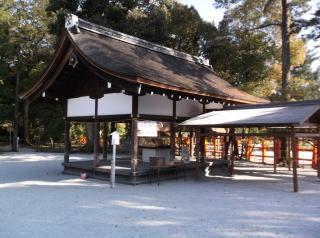 上賀茂神社楽屋・西御供所