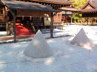 上賀茂神社立砂