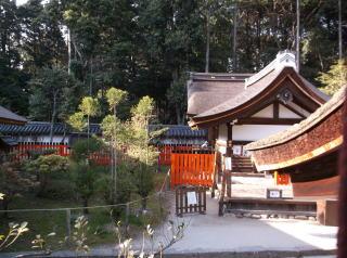 上賀茂神社摂社・新宮神社