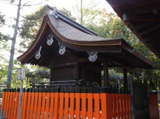 上賀茂神社摂社・奈良神社本殿