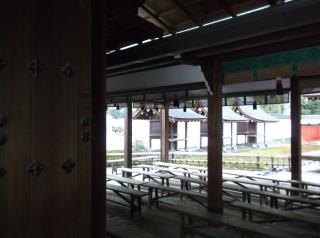 下鴨神社摂社・三井神社拝殿