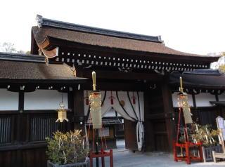 下鴨神社中門・廻廊