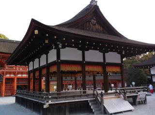 下鴨神社舞殿