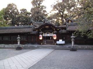 平野大社拝殿