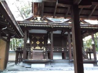 平野大社本殿