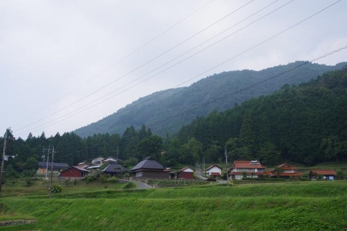 神角登山口