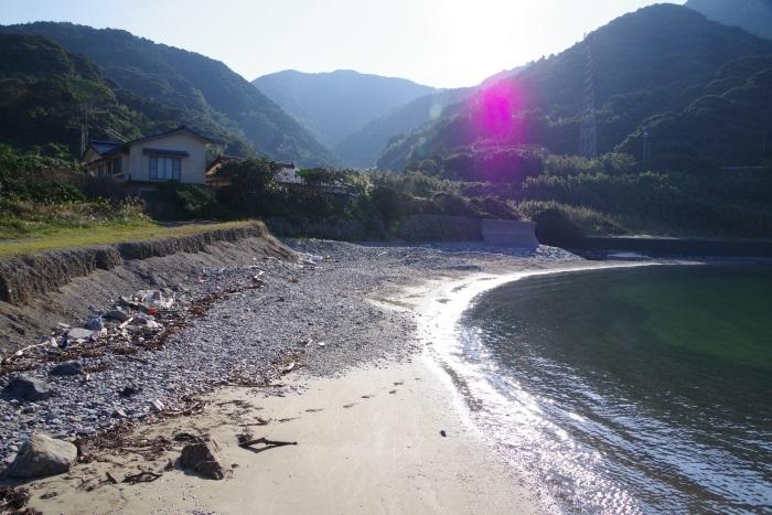 浜辺の静かな時