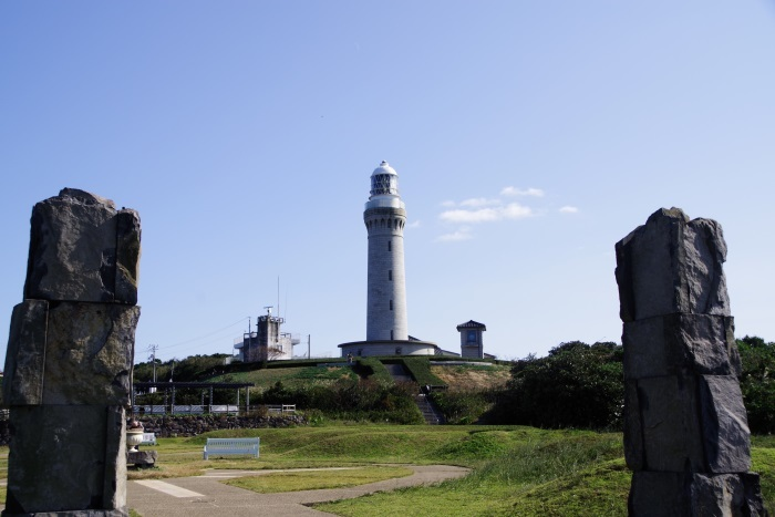 威風堂々角島灯台