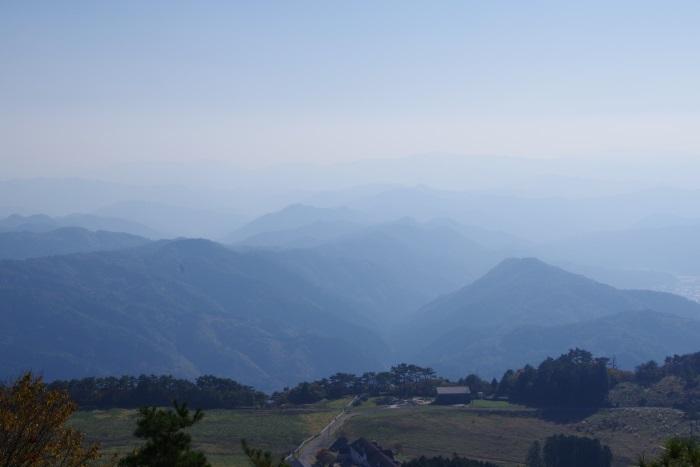 羅漢高原と中国山地