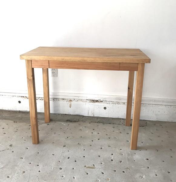 八溝杉のテーブル じざい工房