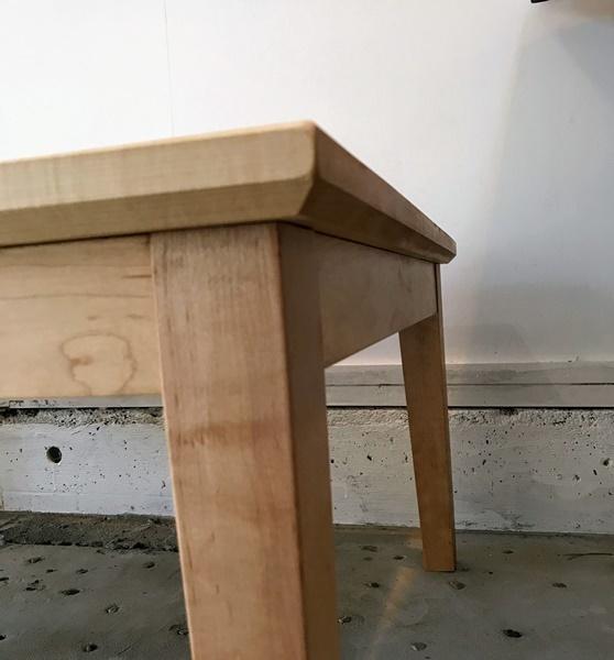 じざい工房の無垢材の炬燵座卓