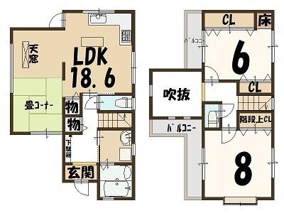 (カラー)3680 桂上豆田町