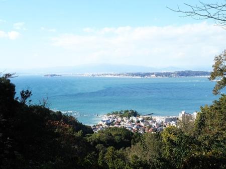 2017-11-11葉山、大峰山からの眺め
