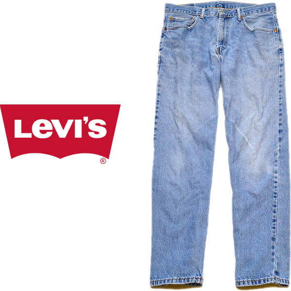 Levisリーバイス550テーパードスリムジーンズ画像ワイドデニムメンズレディース@古着屋カチカチ011