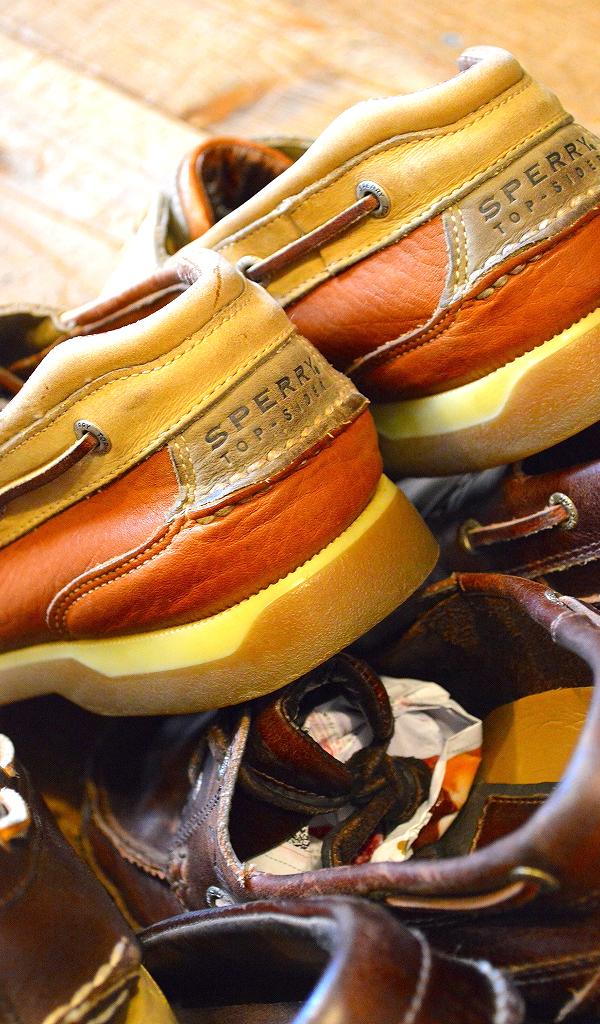 レザーデッキシューズ革靴画像メンズレディーススタイルコーデ@古着屋カチカチ03