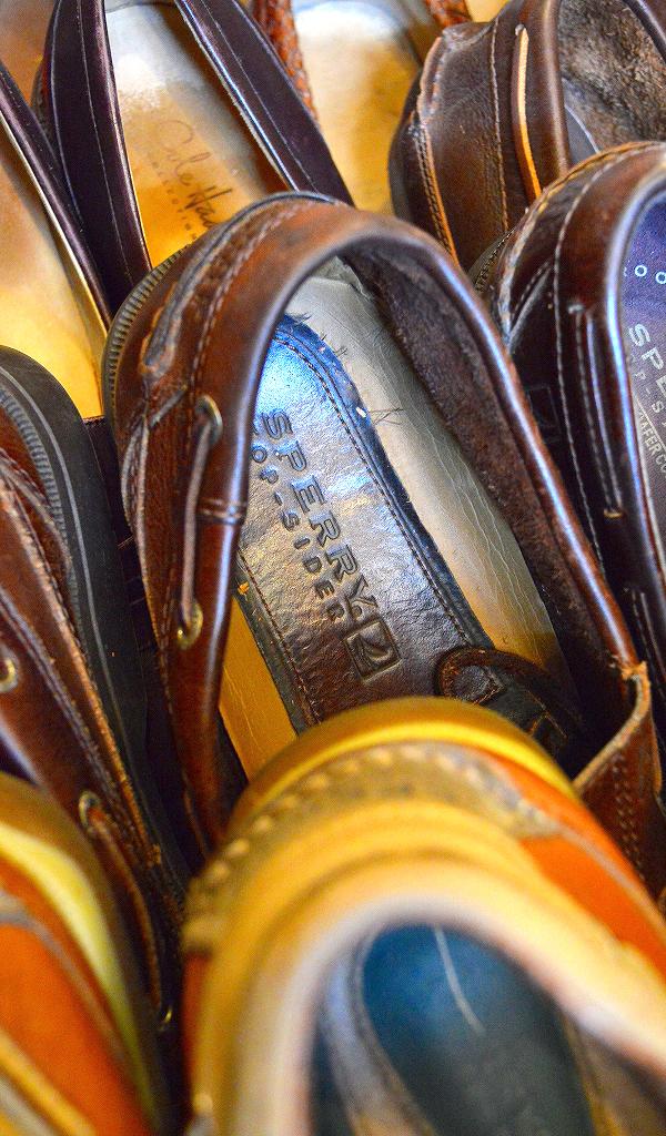 レザーデッキシューズ革靴画像メンズレディーススタイルコーデ@古着屋カチカチ05