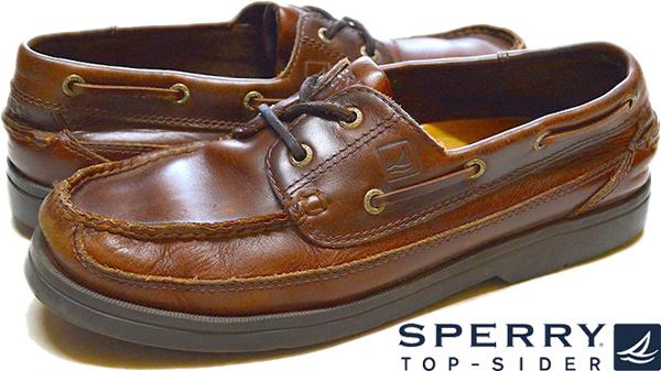 レザーデッキシューズ革靴メンズローファー@古着屋カチカチ02