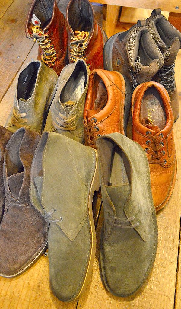 レザーブーツ革靴レッドウィングクラークス@古着屋カチカチ01