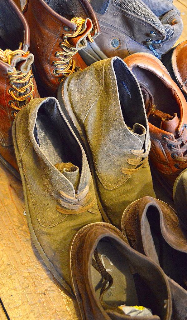 レザーブーツ革靴レッドウィングクラークス@古着屋カチカチ04