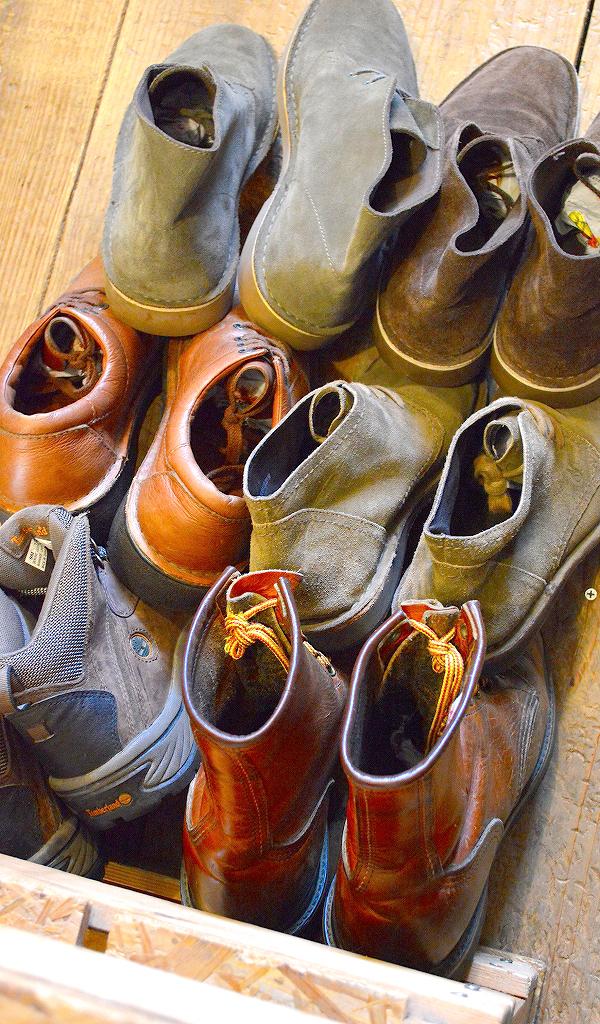 レザーブーツ革靴レッドウィングクラークス@古着屋カチカチ05