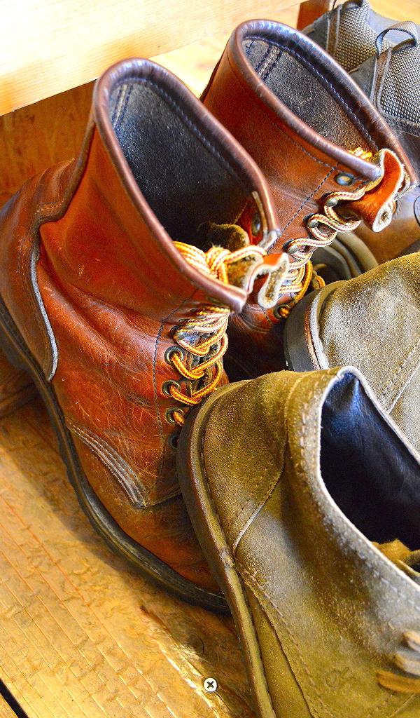 レザーブーツ革靴レッドウィングクラークス@古着屋カチカチ07