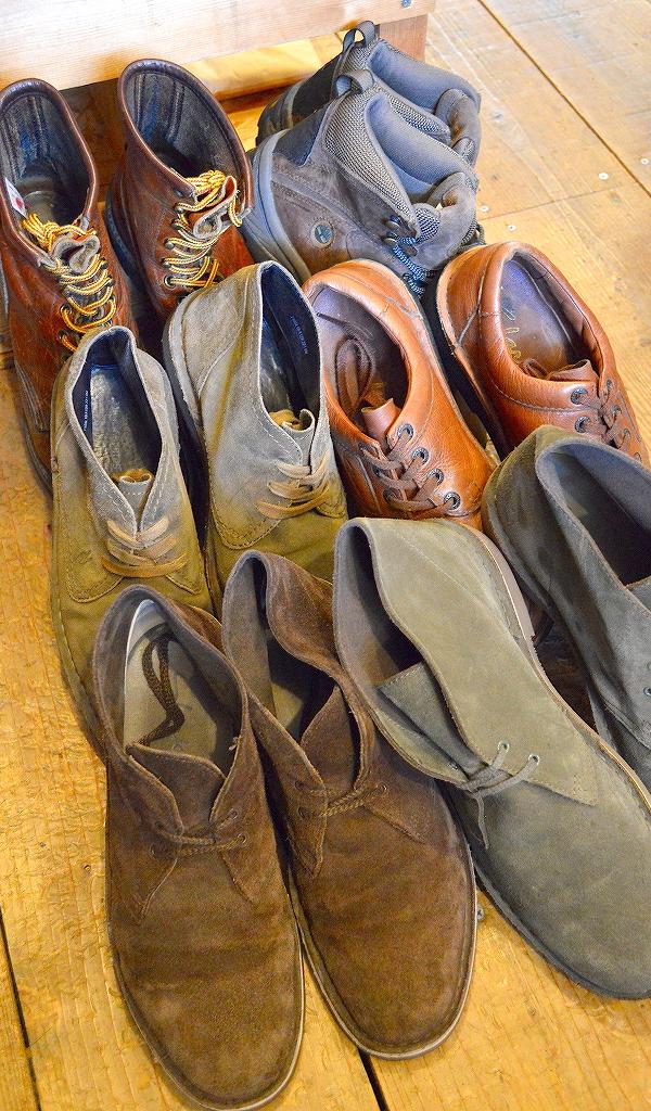 レザーブーツ革靴レッドウィングクラークス@古着屋カチカチ09