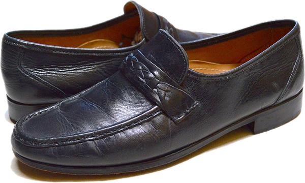 UsedローファーLoaferレザーシューズ革靴画像メンズレディースコーデ@古着屋カチカチ01