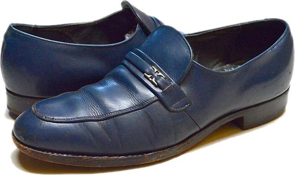 UsedローファーLoaferレザーシューズ革靴画像メンズレディースコーデ@古着屋カチカチ02