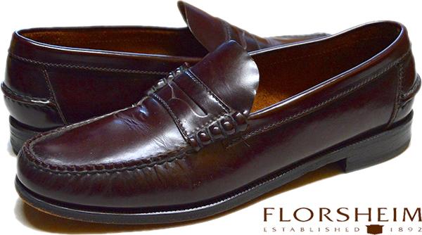 UsedローファーLoaferレザーシューズ革靴画像メンズレディースコーデ@古着屋カチカチ05
