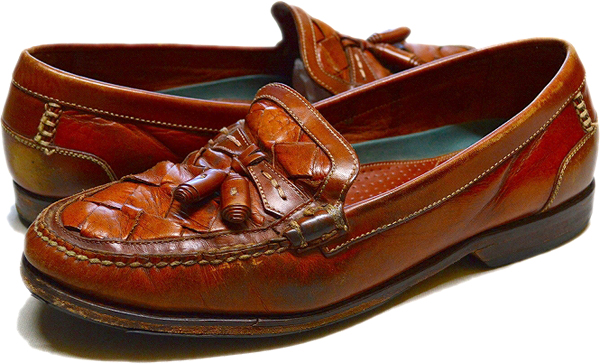 UsedローファーLoaferレザーシューズ革靴画像メンズレディースコーデ@古着屋カチカチ06