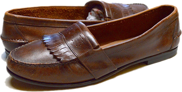 UsedローファーLoaferレザーシューズ革靴画像メンズレディースコーデ@古着屋カチカチ08