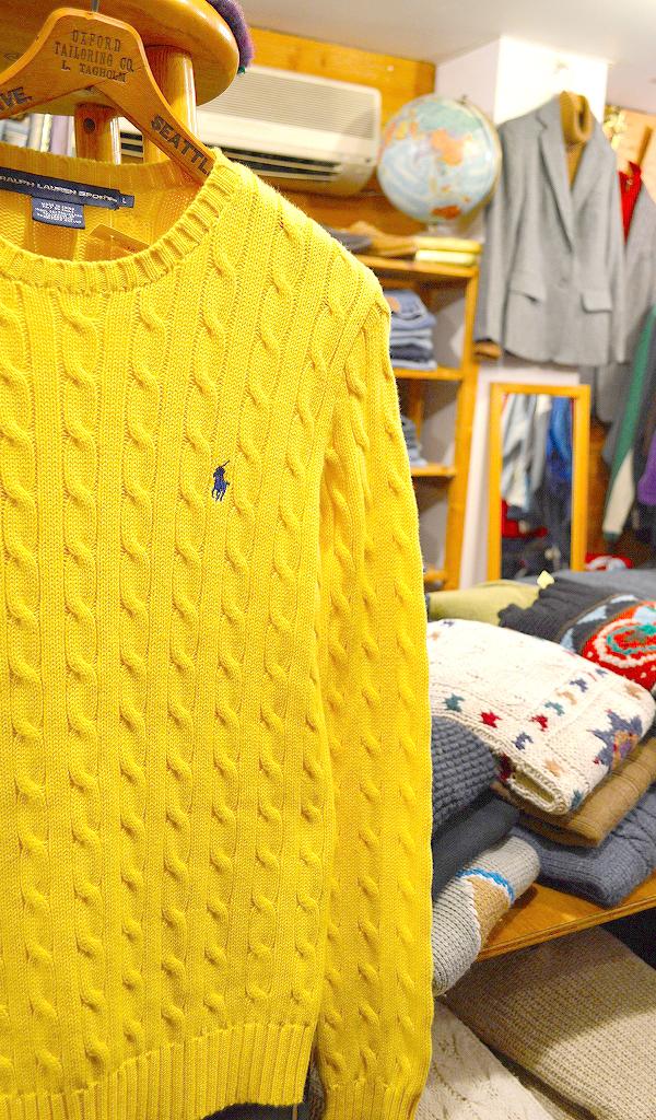 ポロラルフローレンPOLOニットセーター画像メンズレディースコーデ@古着屋カチカチ02